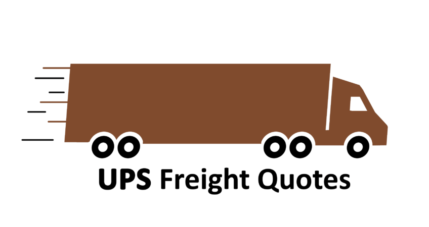 UPS Freight Brown