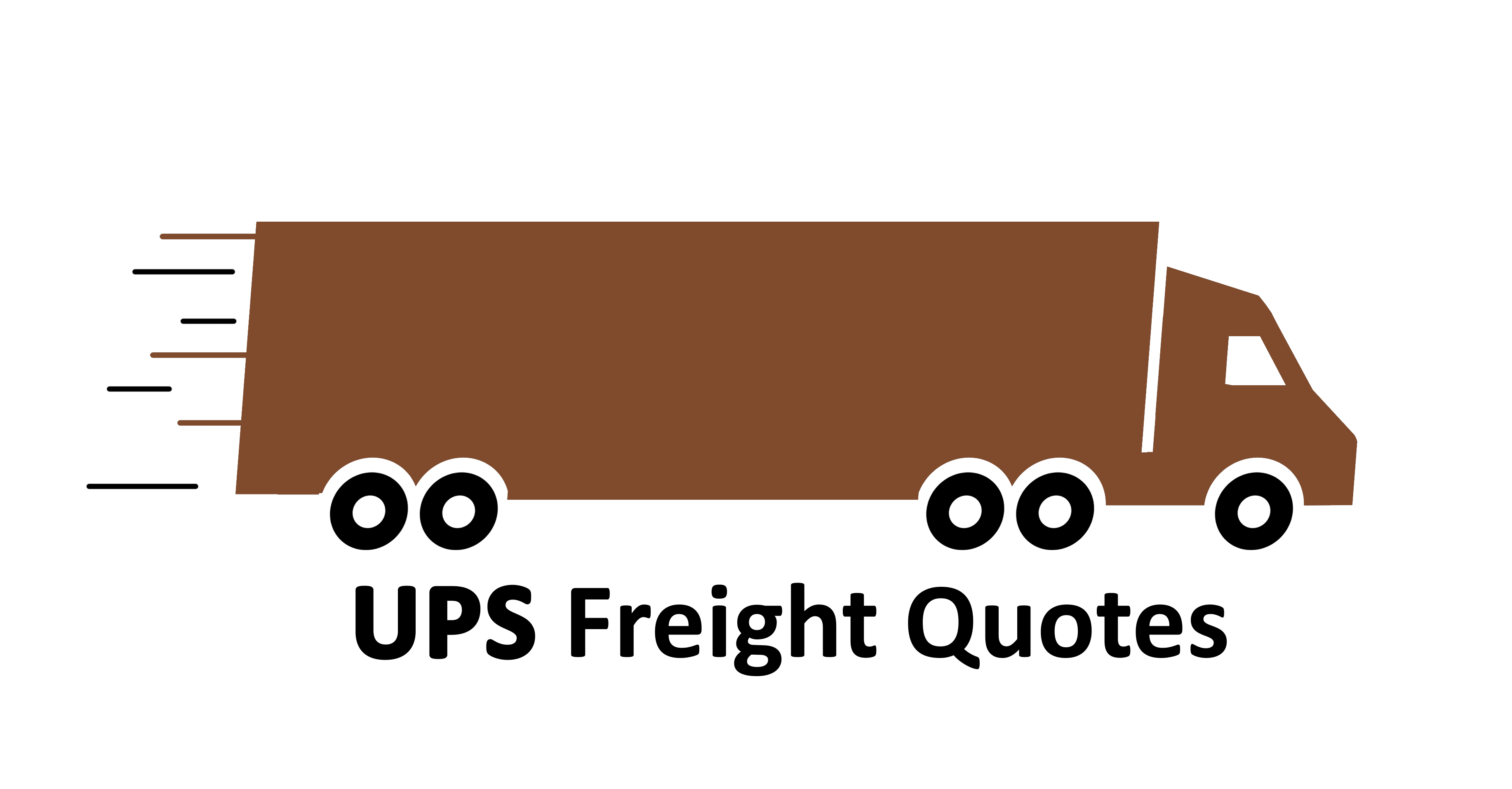 UPS Freight Rates Brown