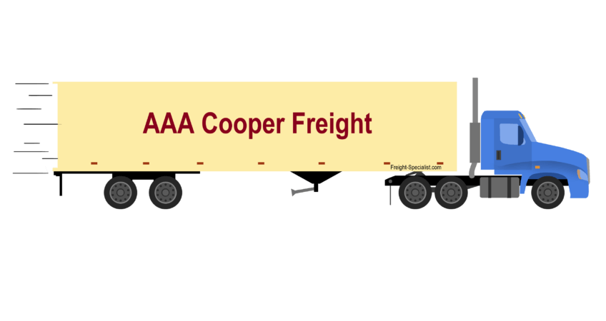 AAA Cooper Freight Rates